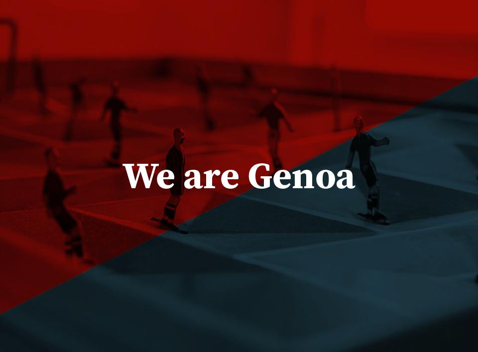 we are Genoa